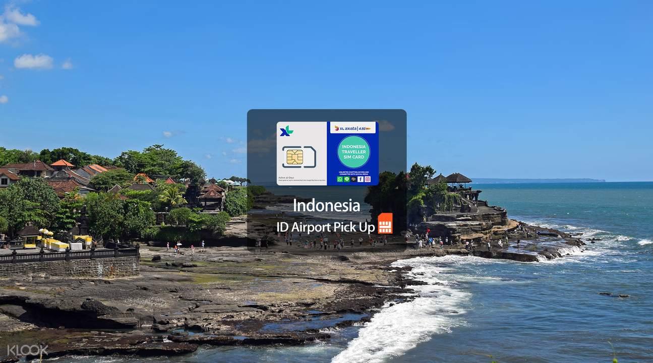 巴厘岛3g/4g电话卡,于巴厘岛机场领取,轻松上网,方便又省心